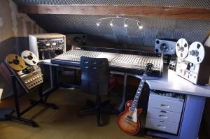 Le studio d'Aurélien